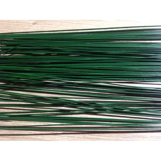Проволока флористическая герберная зеленая 5 шт