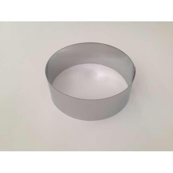Форма круглая железная без дна 20см