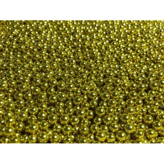 Шарики перламутр золото 20гр