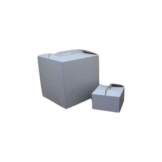 Коробка для торта самосборная 30х30х25