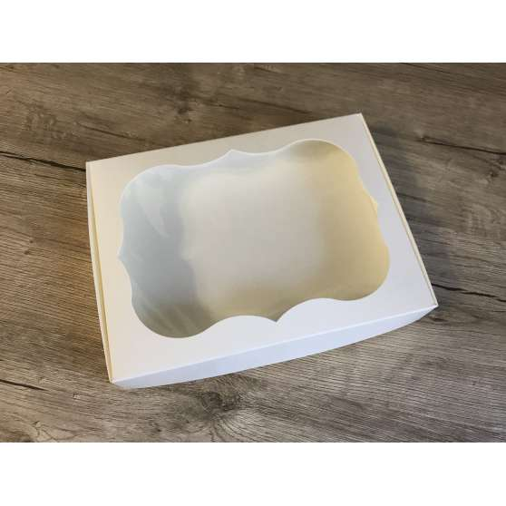 Коробка для пряника 15х20х3 с окном
