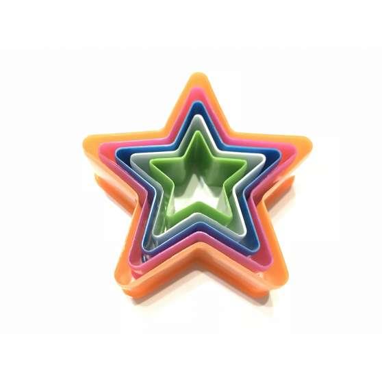 """Набор вырубок для печенья """"Звезда"""""""