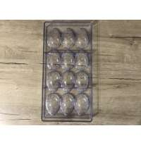 """Поликарбонатная форма для шоколада """"Яйцо с узором"""""""