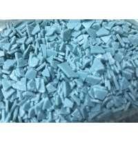 Осколки шоколадной глазури голубые