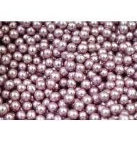 Шарики сахарные «Розовый» перламутр 5мм, 25г
